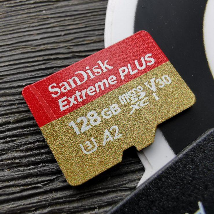 SanDisk Extreme Plus microSD 128GB