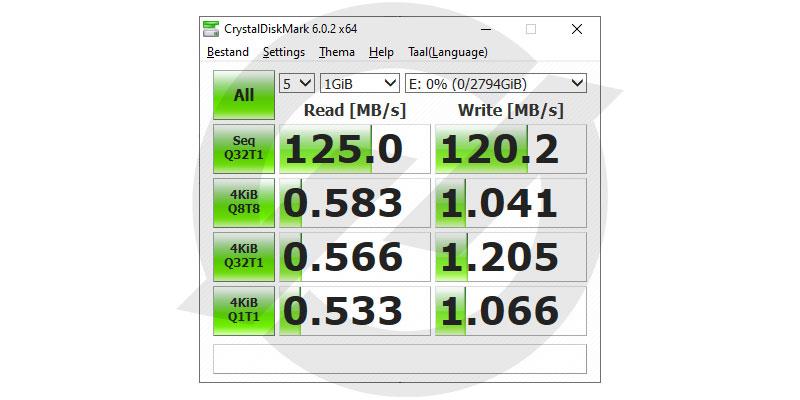WD_Black P10 5TB Xbox One HDD Crystal Diskmark 6 64-Bit