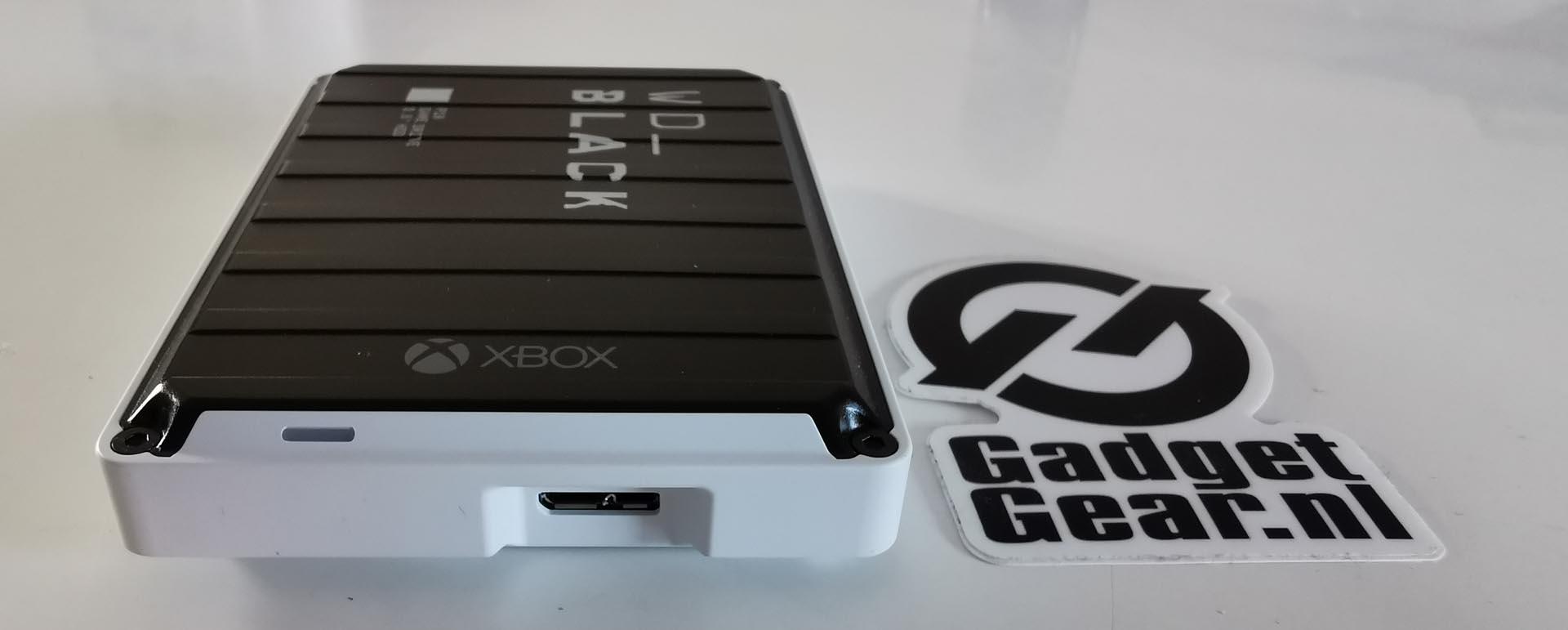WD_Black P10 Game Drive voor Xbox One USB Aansluiting