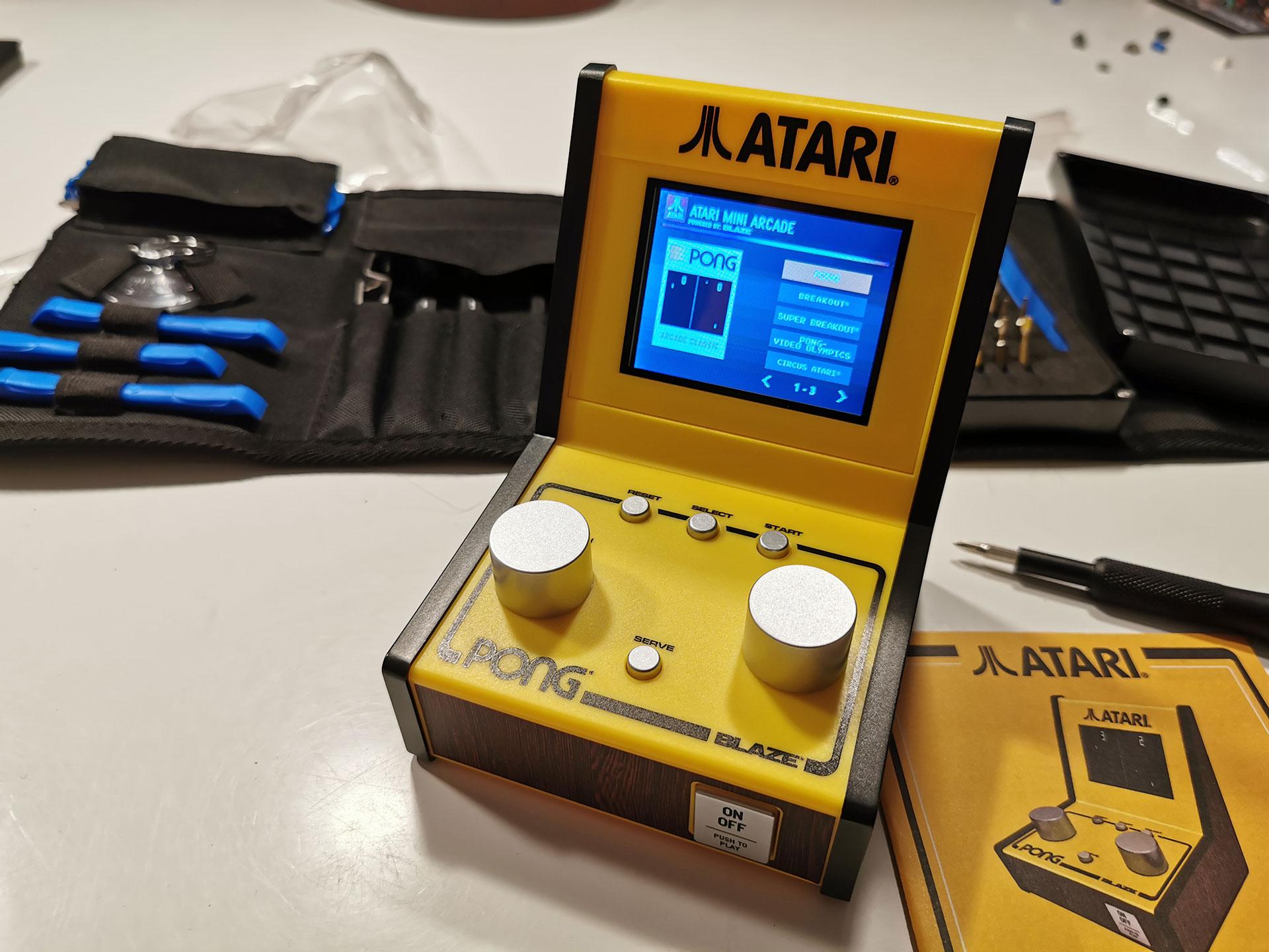 Atari Mini Arcade Pong