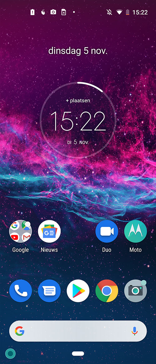 Android One op Motorola One Action