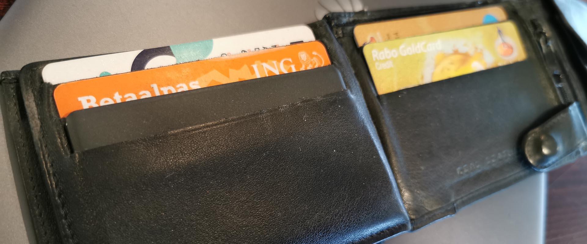 Tile Slim in portemonnee