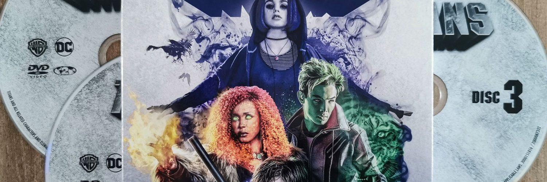 Titans Seizoen 1 op DVD