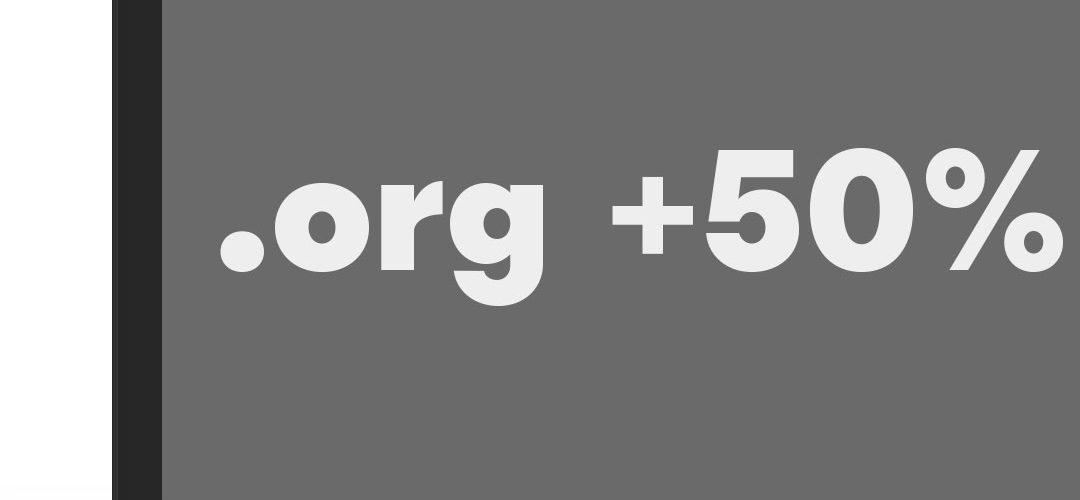 .org verkocht