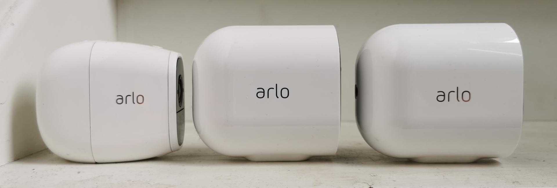 Arlo Pro 2 Arlo Pro 3 Arlo Ultra Zijkant