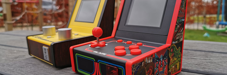 Blaze Atari Mini Arcade en Atari Mini Arcade Pong