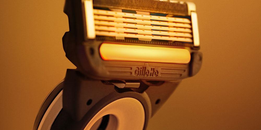 Gillette Heated Razor kop