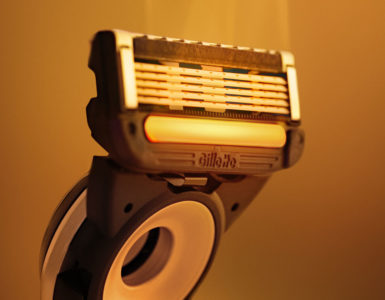 Gillette Heated Razor kop