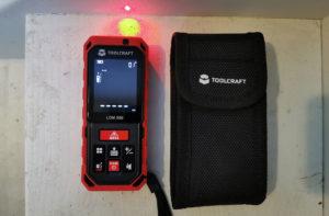 Toolcraft TO-LMD X60 met laser aan