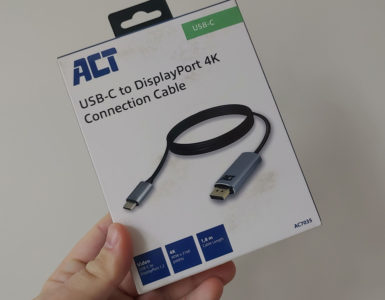 ACT AC7035 USB-C to DisplayPort 4K Connection Cable Verpakking