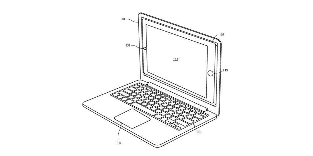 Apple iPad MacBook Patent
