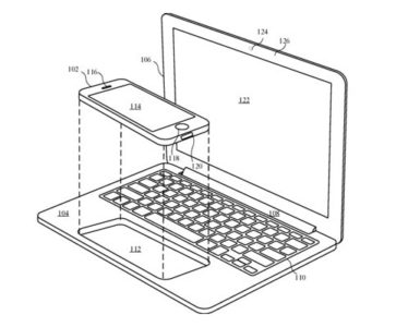 Apple iPhone MacBook Patent