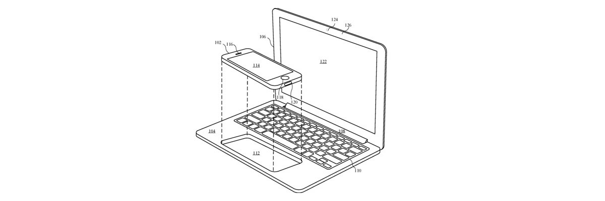 Apple iPhone MacBook Patent