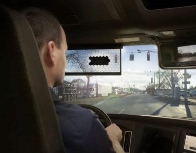 Virtual Visor met een man