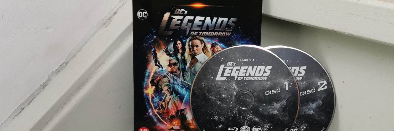 DC's Legends of Tomorrow Seizoen 4 Blu-Ray