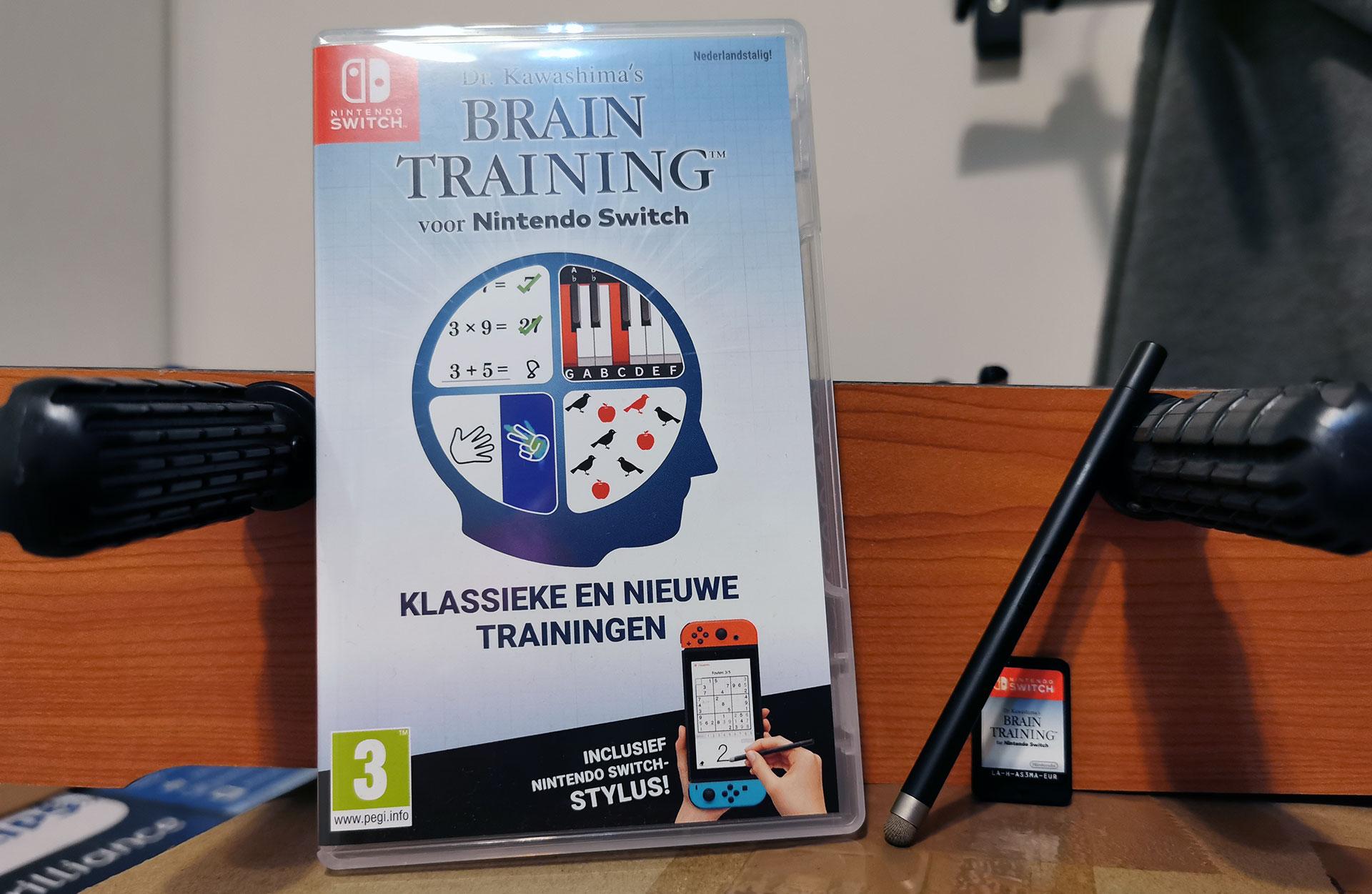 Dr. Kawashima's Brain Training Uitgepakt