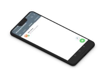 Google Pixel 3 XL met WhatsApp