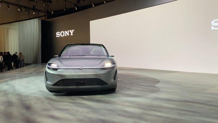 Sony Vision-S Prototype op de CES