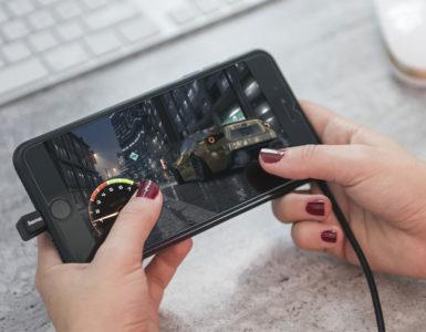 Hama laadkabel voor gamers met handen