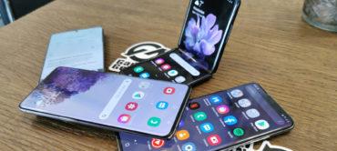Samsung Galaxy Z Flip en S20 Series