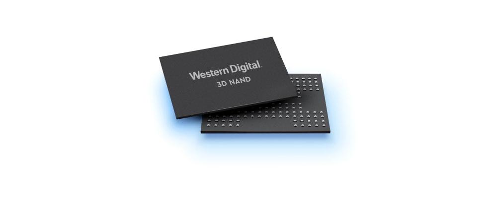 Western Digital 3D NAND BiC5 Chip