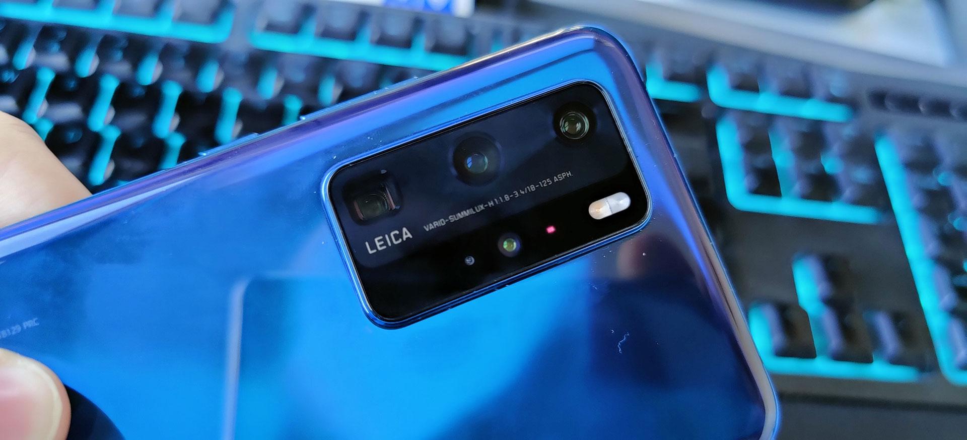 Huawei P40 Camera Eiland