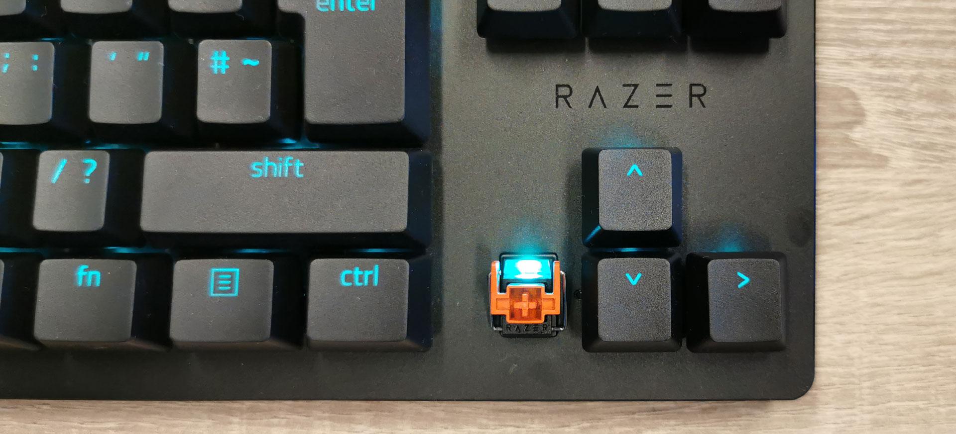 Razer Huntsman TE Linearie Optische Switch