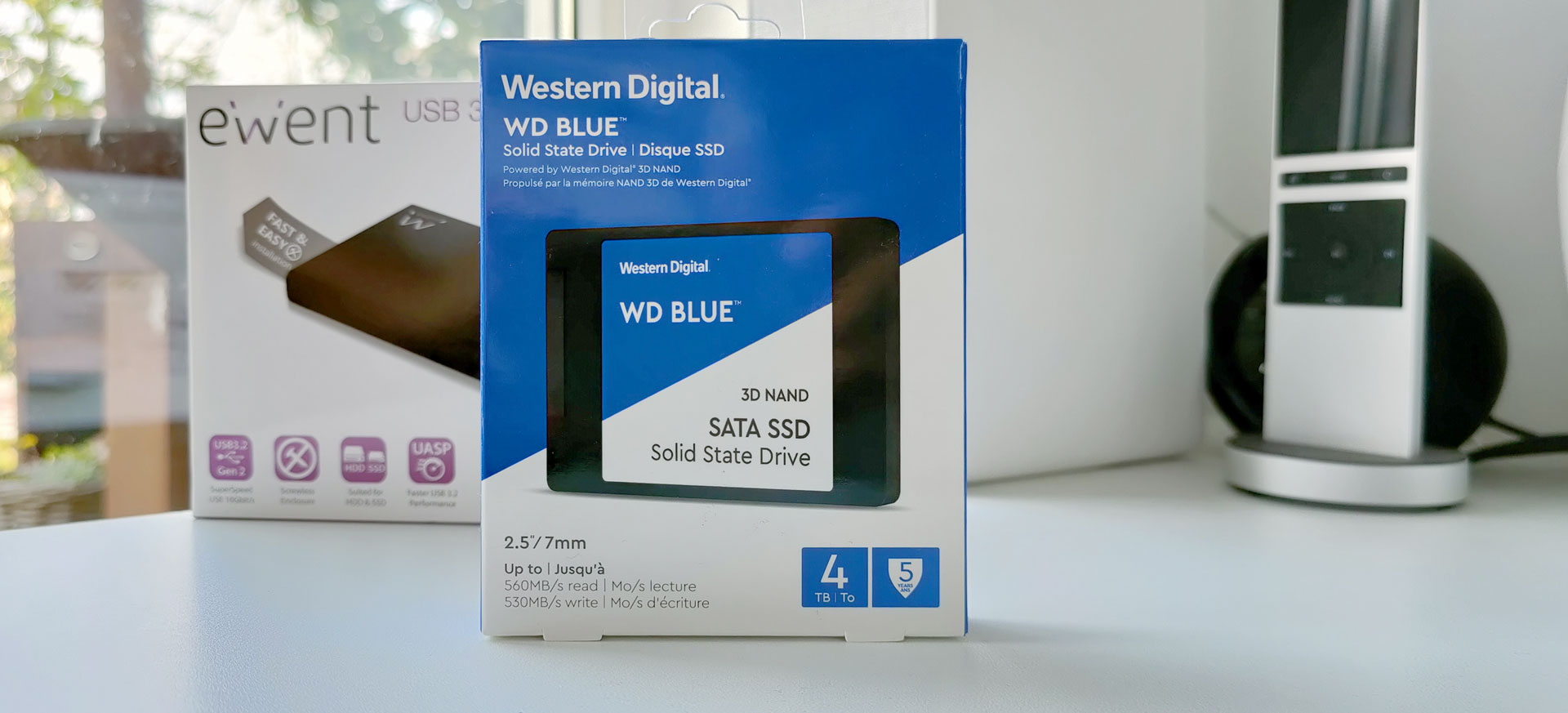 WDS400T2B0A Verpakking