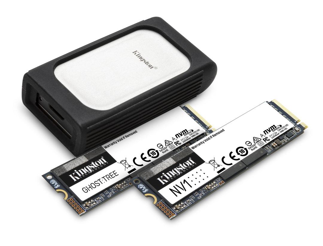 Kingston NVMe SSD producten CES 2021
