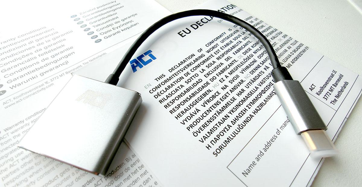 ACT AC7005 Uitgepakt