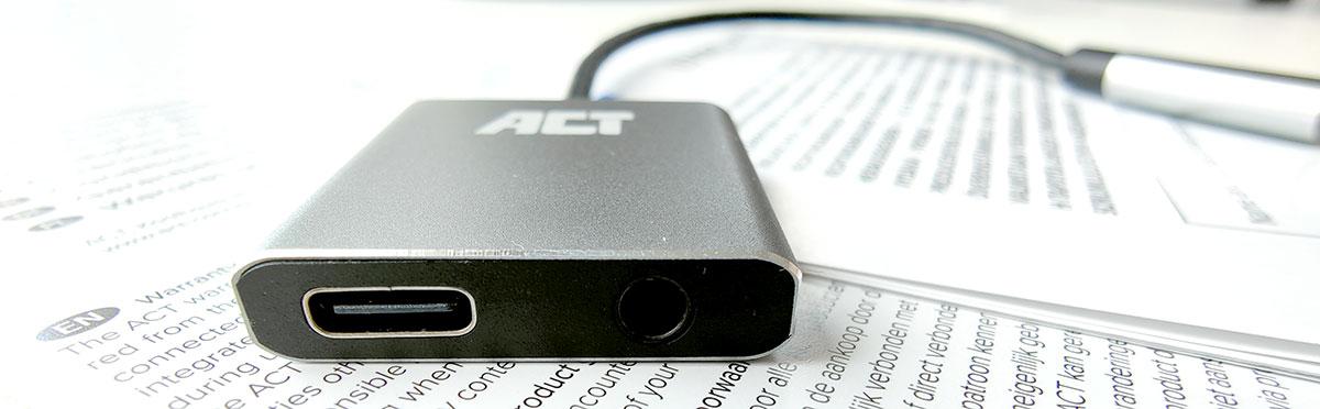 ACT AC7005 Aansluitingen