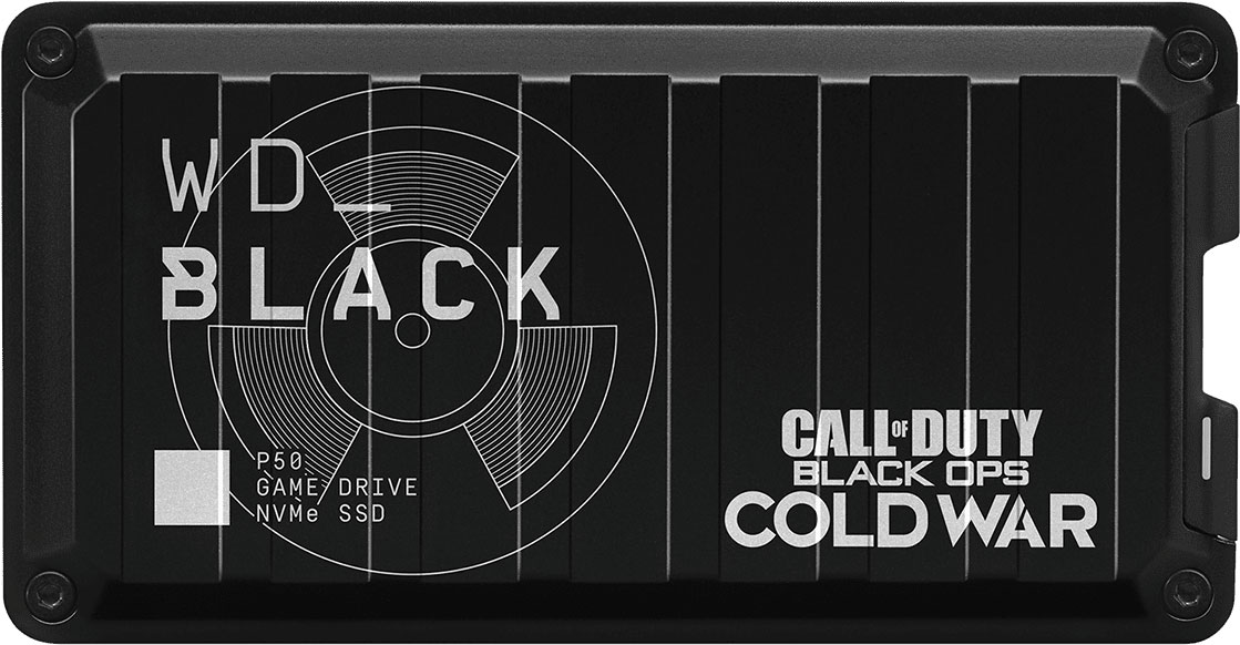 WD Black Game Drive P50 NVMe SSD Call of Duty Special Edition