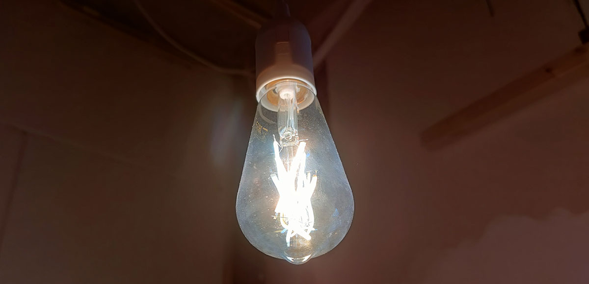 Wiz Filament Amber ST64 E27